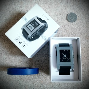 Pebble watch crowd-funding via Wikipedia