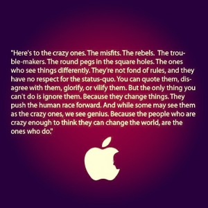Quote from Steve Jobs via Flickr